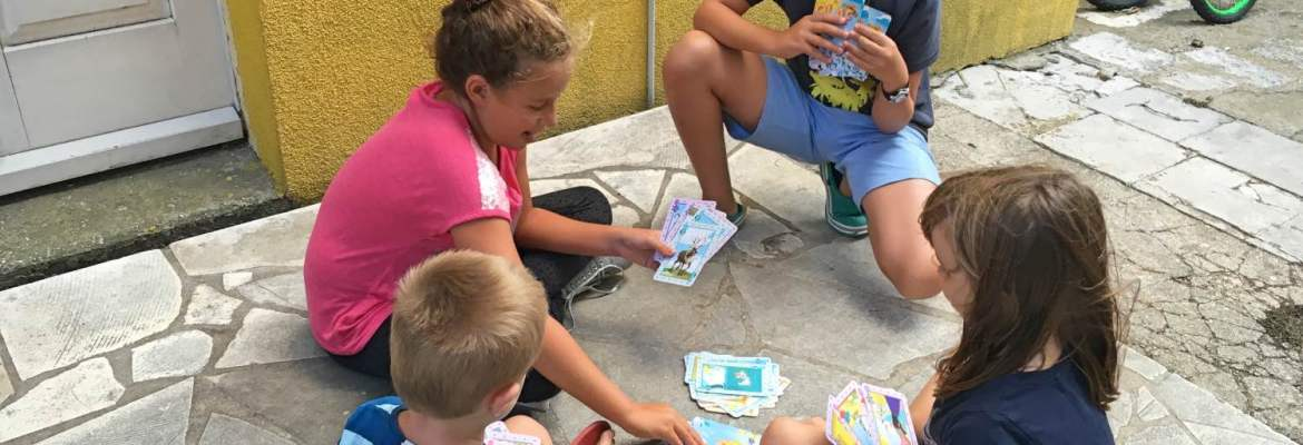 Making friends over a game of cards