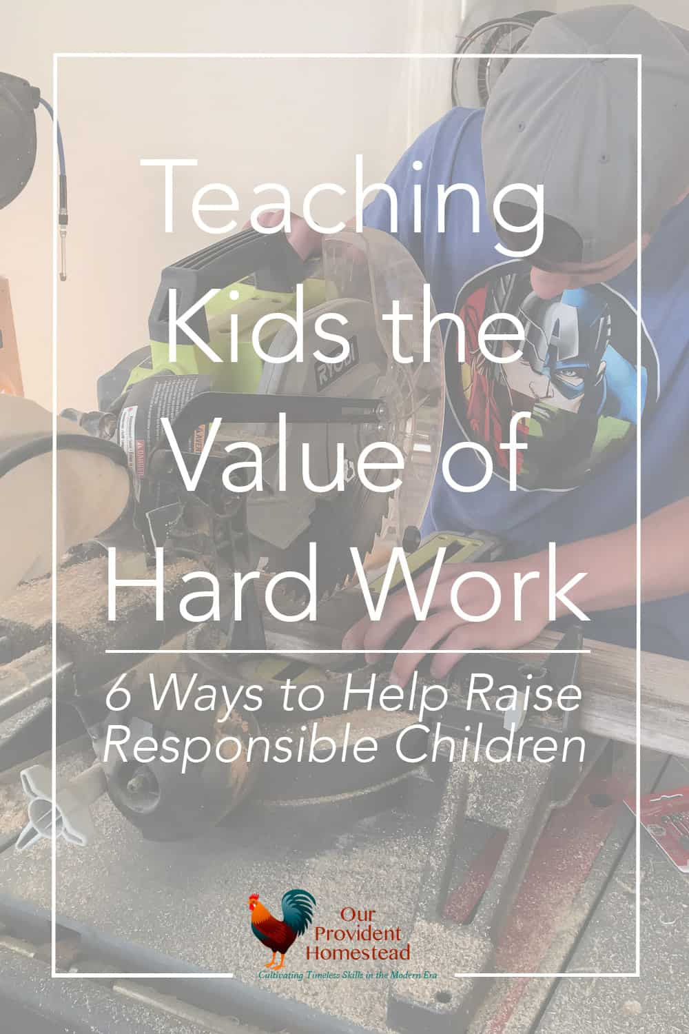 How do you teach kids the value of hard work? We discuss 6 ways to help your children learn responsibility and hard work. Hard Work | Teaching Kids | Responsibility