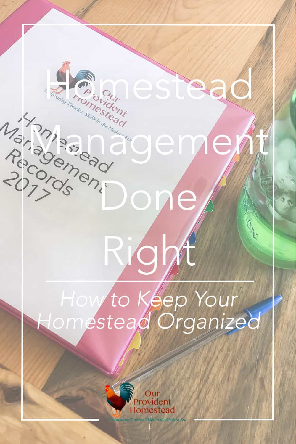 Would you like to know if your homestead is profitable? Let's talk about homesteading management and keeping your homesteading records organized. Homesteading Records | Homesteading Management | Keeping Records