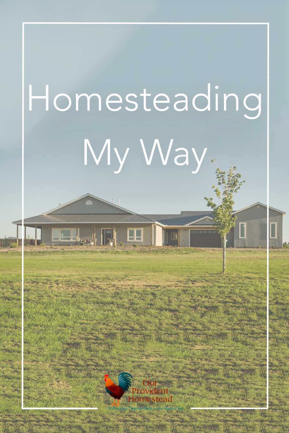 So how am I going to take this idea of homesteading and make it my own? Let me tell you my definition of homesteading for our family. Homesteading   Definition of Homesteader