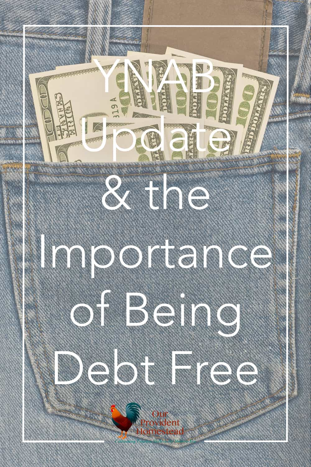 Do you dream of living debt free? We want to share YNAB with you and discuss 7 reasons why living debt free is a goal worth working for. YNAB | Debt Free | Getting Out of Debt