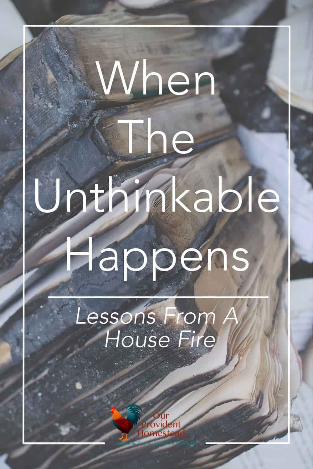 What lessons can you learn from our house fire? We reflect on our loss and what we have learned at our three year anniversary of our fire. House Fire | Emergency Preparedness | Lessons Learned
