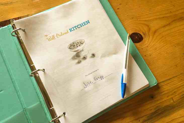 Do you wish you had a way to organize your kitchen effectively? The Well Ordered Kitchen Planner has the answer to your organization problems. Well Ordered Kitchen   Kitchen Planner   Cooking Real Food