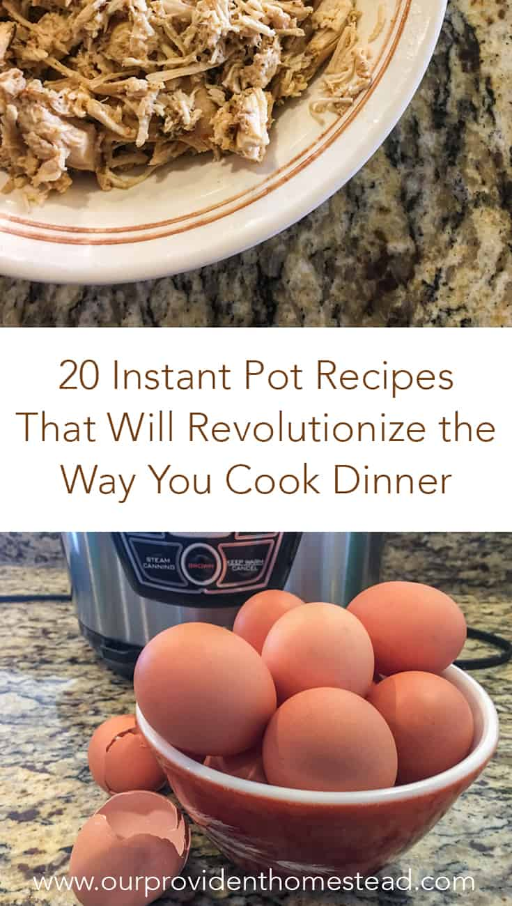 Do you love your Instant Pot? Click here for a roundup of the best instant pot recipes on the internet and how they can help you at dinnertime. #instantpot #instantpotrecipes #pressurecooker #pressurecookerrecipes