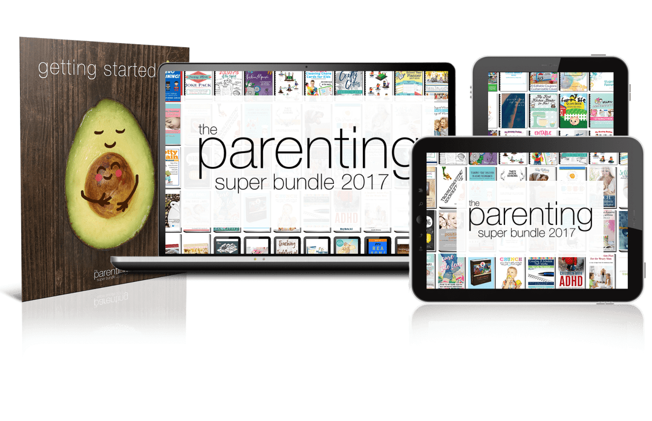 Are you struggling with parenting issues? Click here to check out the resources available in the Parenting Super Bundle. Ends August 14, 2017. Parenting | Homeschooling | Kids Activities