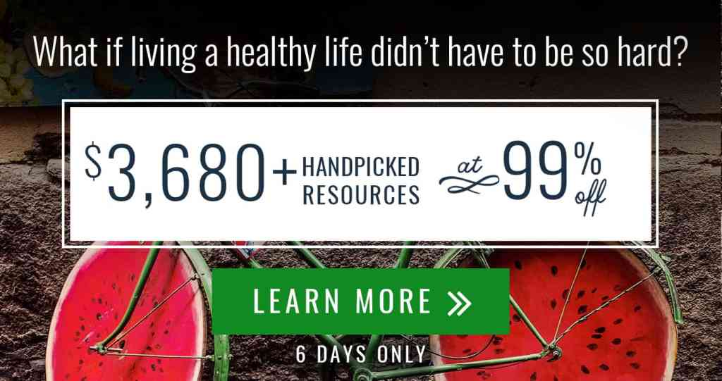 Do you love getting a great deal? Check out the 4 reasons why this year's Ultimate Healthy Living Bundle is such an amazing value! Healthy Living | Homesteading Resources | Rootsy Membership