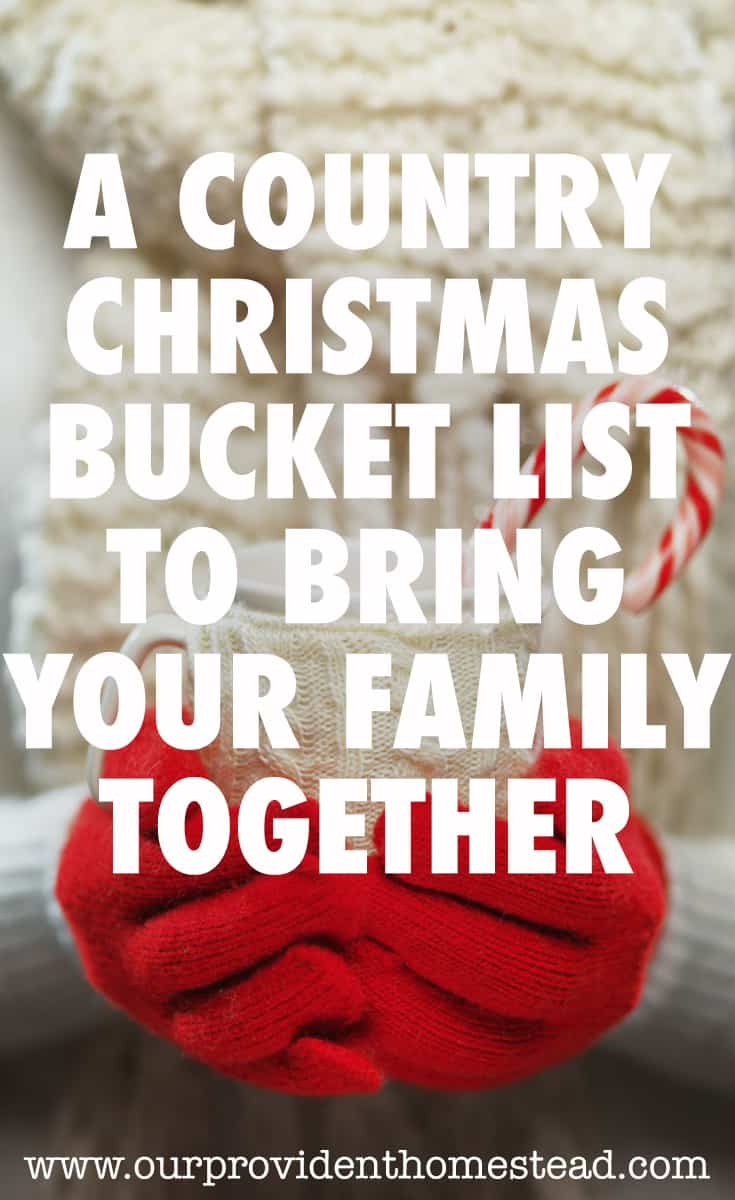 A Country Christmas Bucket List to Bring Your Family Together