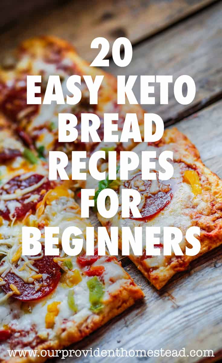 easy keto bread for beginners pin