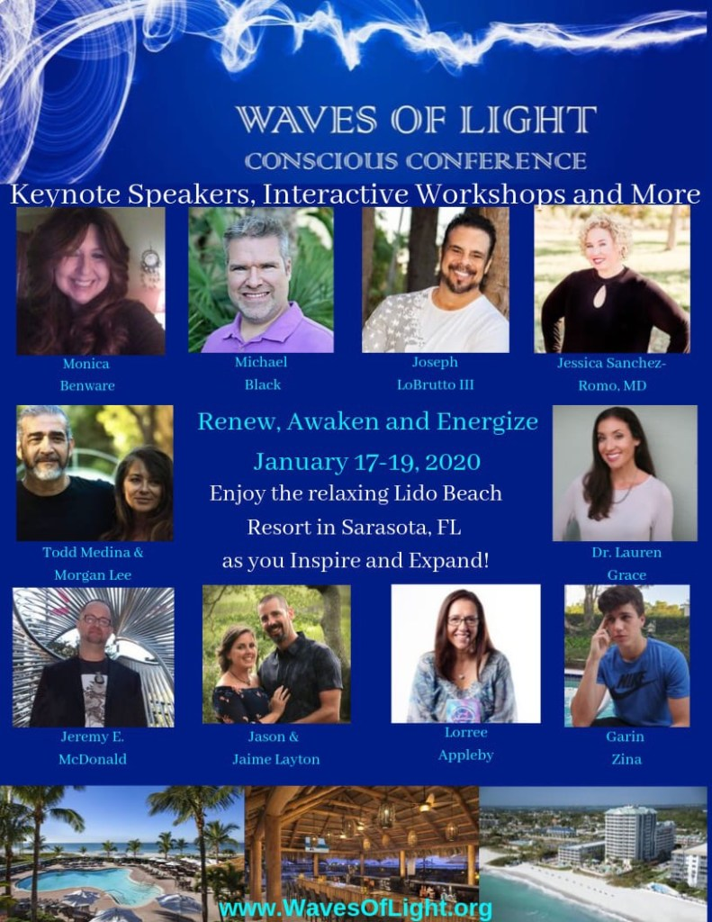 Waves of Light Conscious Conference 2020 with Keynote Speaker Lorree Appleby and other Amazing Lightworkers