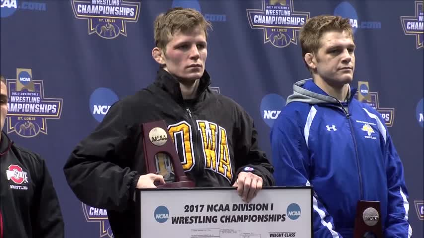 Cory Clark wins national title