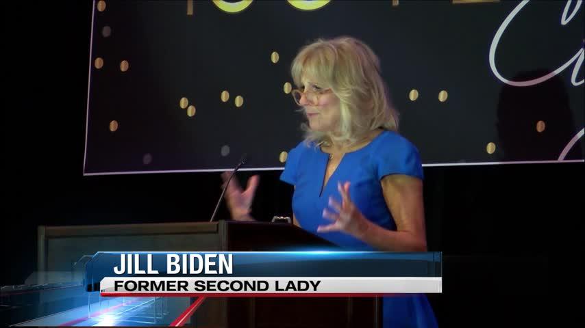 Dr Jill Biden Speaks to YWCA