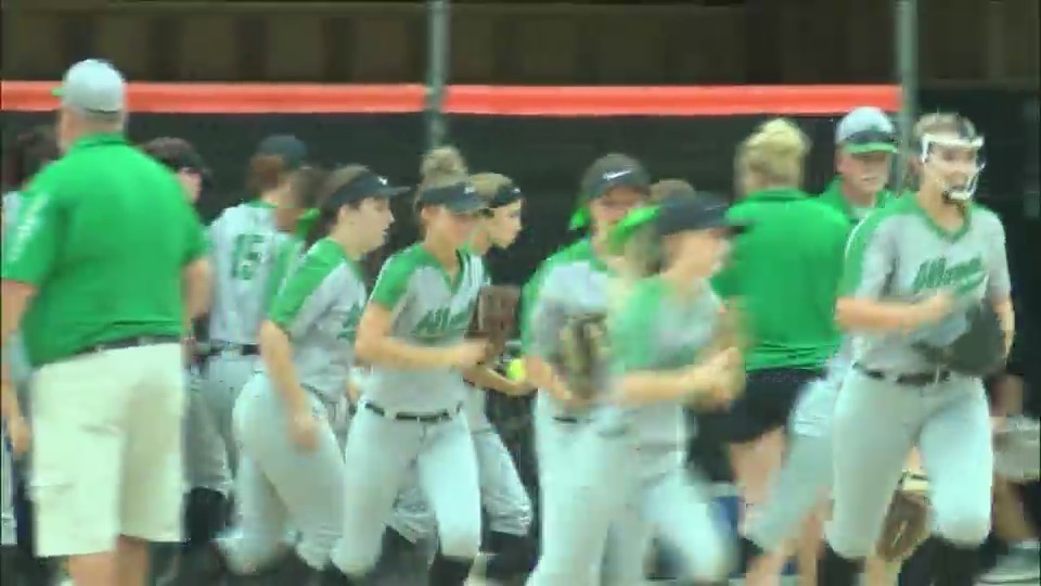 Alleman softball sees its playoff run end with loss in sectional semifinals