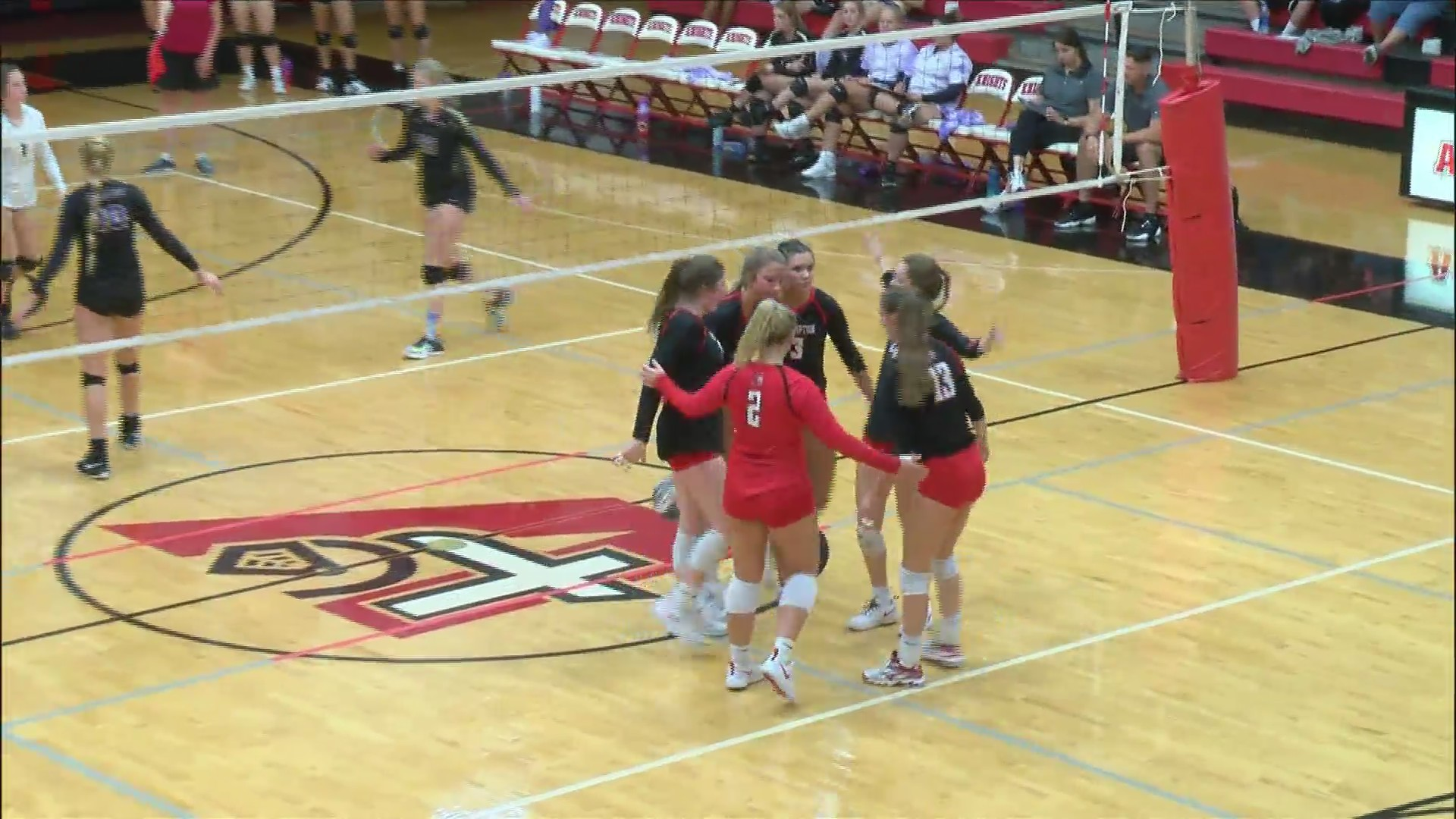 Assumption Volleyball going to State.