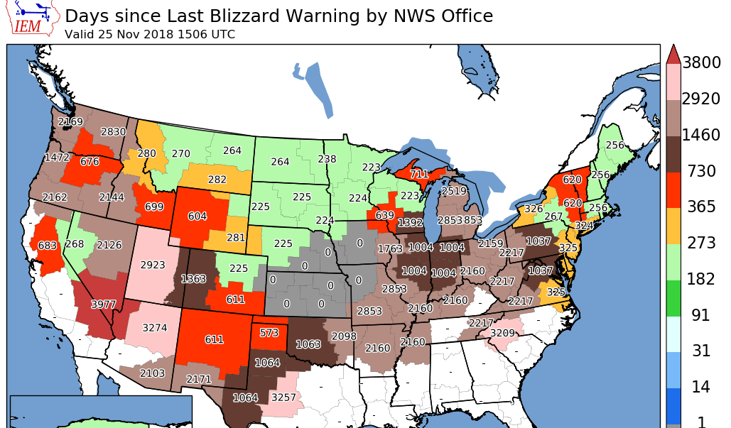 Blizzard Warning possible today in the Quad Cities on