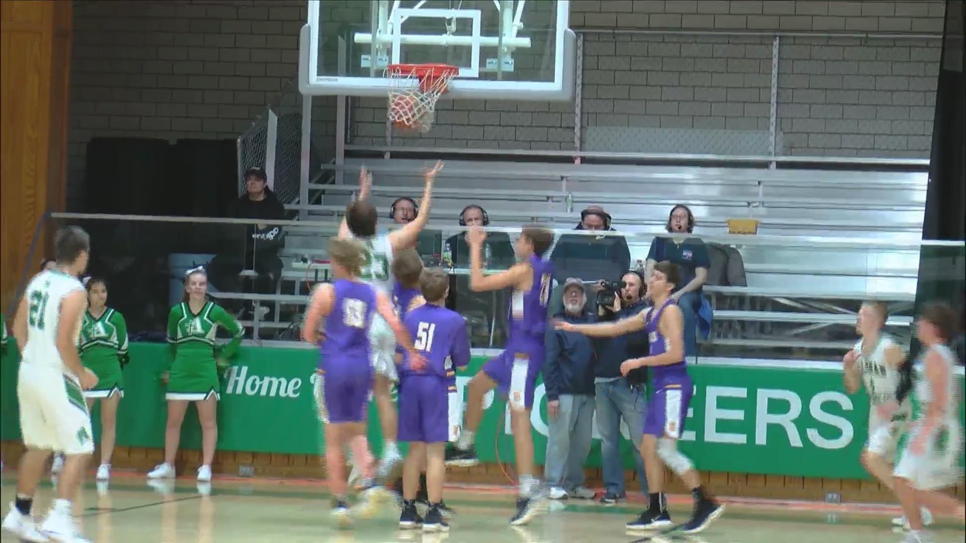 Alleman Basketball beats Sherrard 58-45