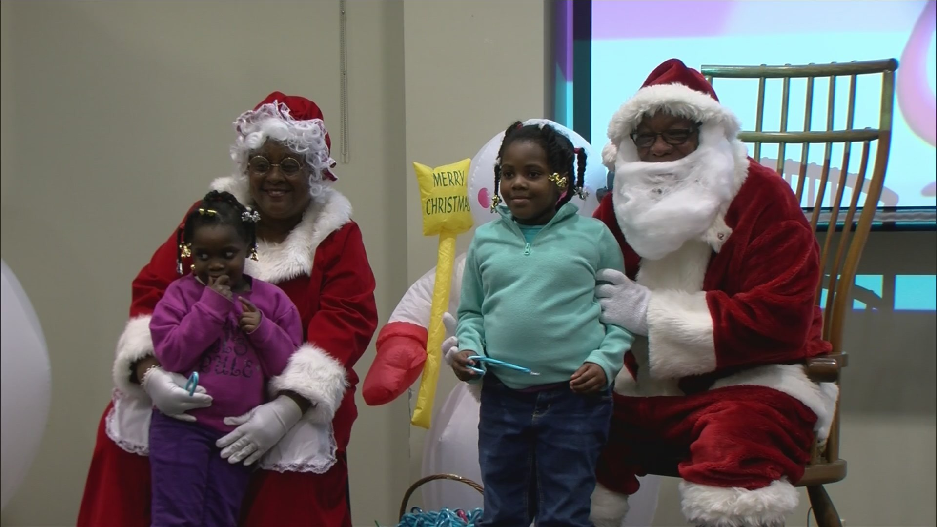 MLK Center holds annual Christmas party to bring cheer to needy kids