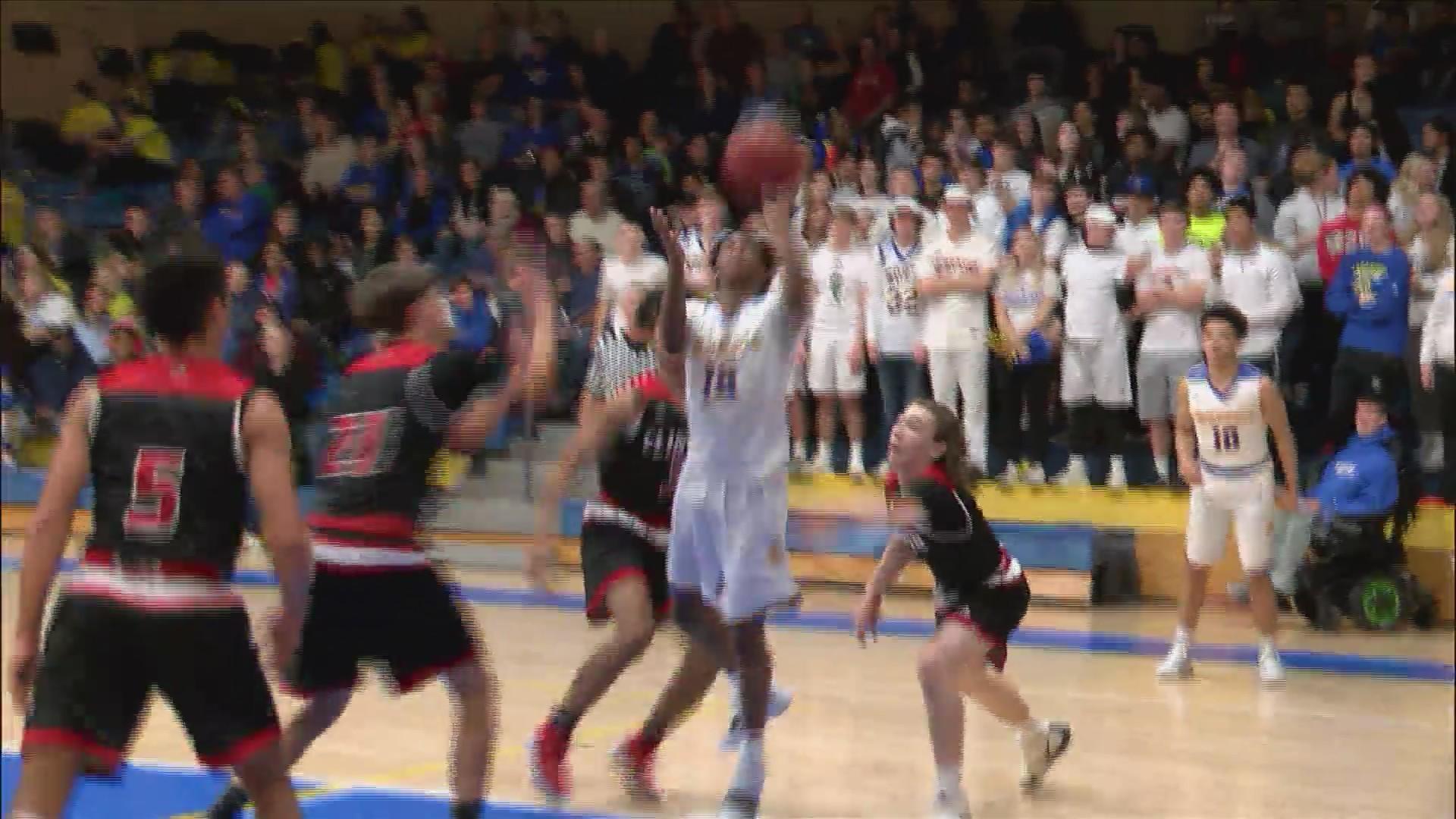 North boys basketball beats Clinton at home