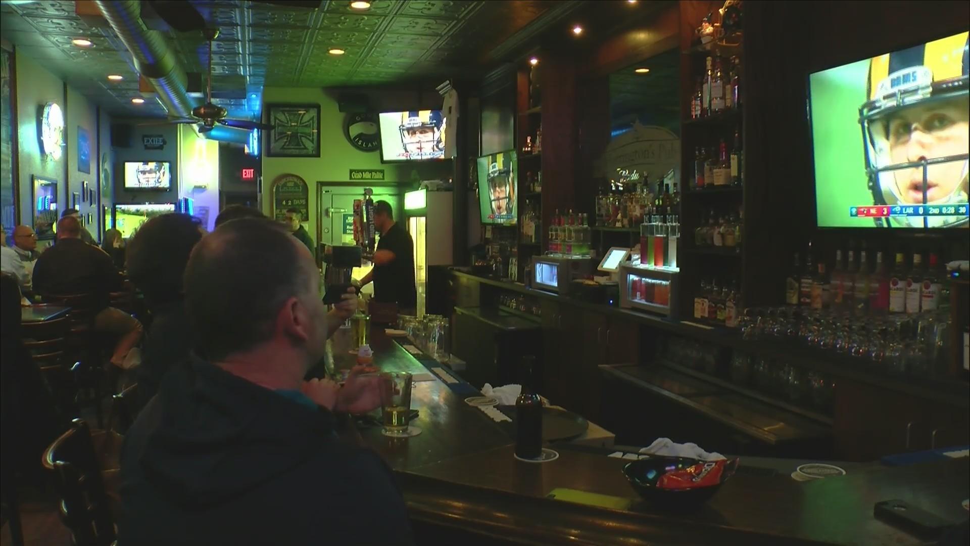 Big Game at the bars