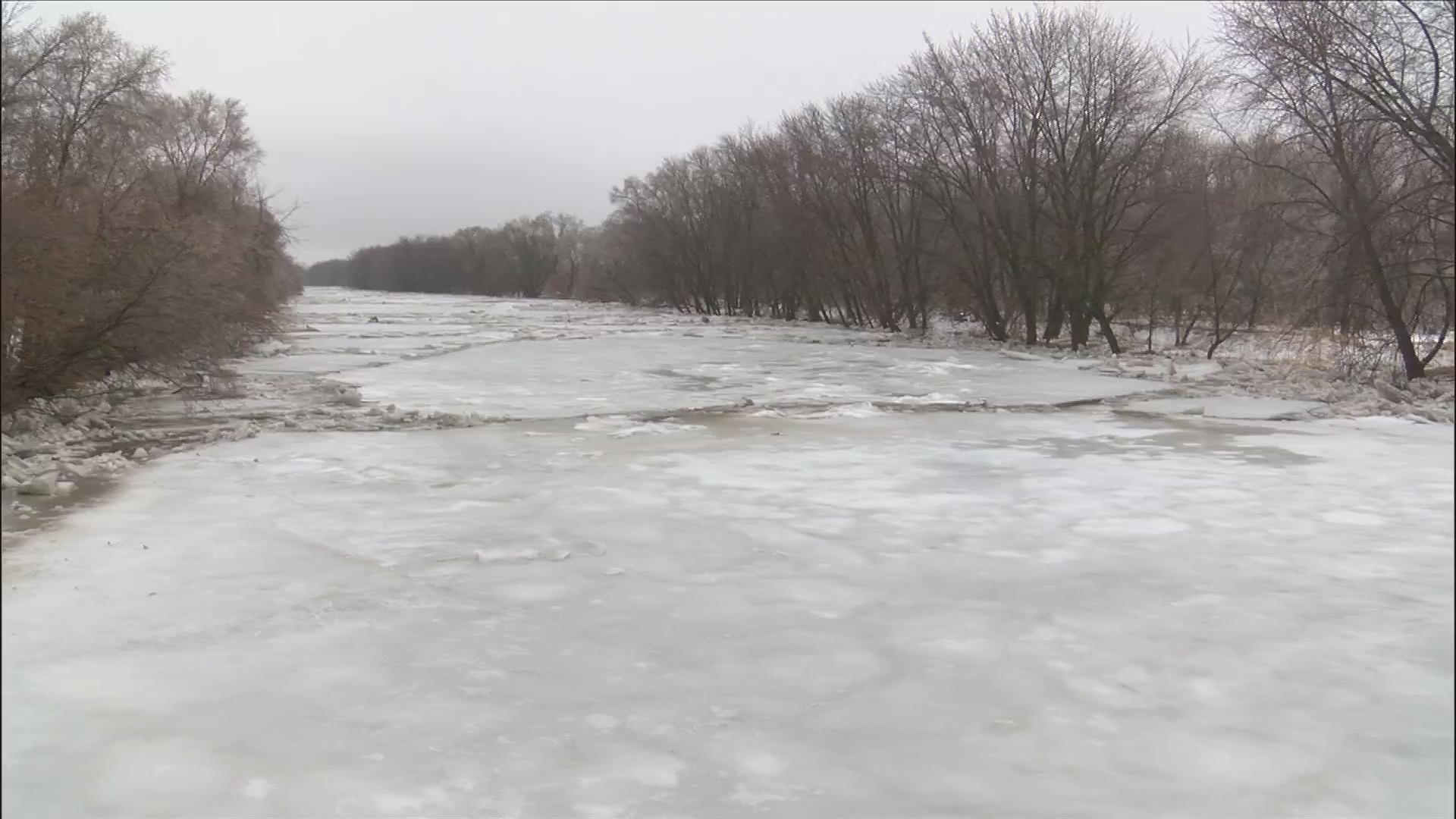 More flooding expected as Colona ice jam moves down river