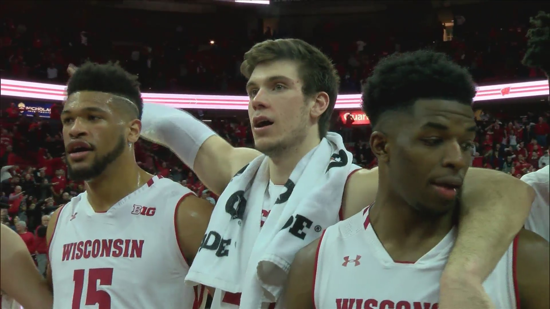 Ethan Happ to go down as one of Badgers' best