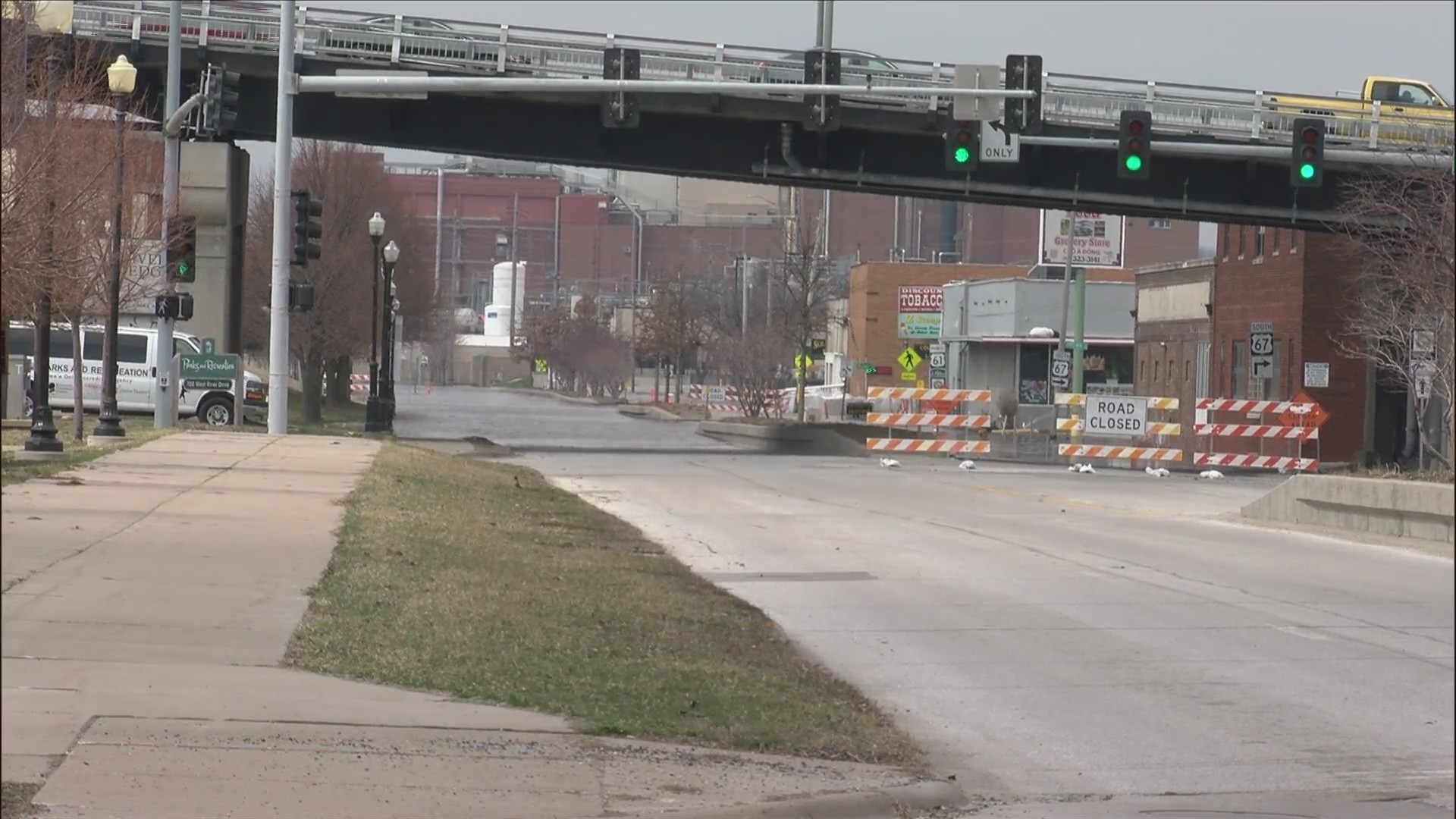 More closures on River Drive in Davenport with increasing