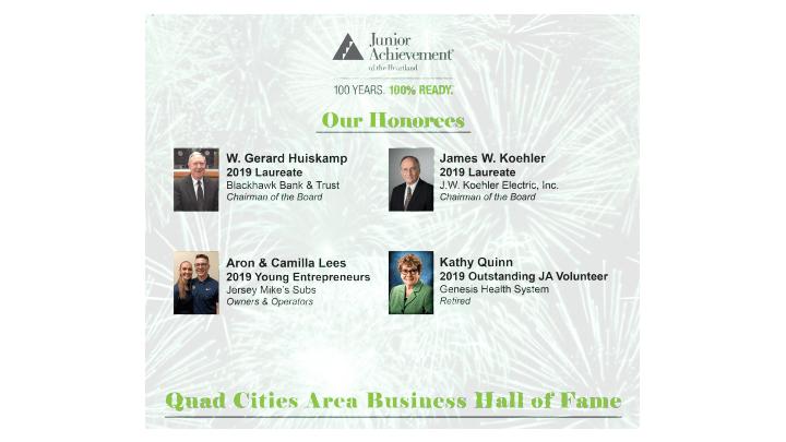 2019 JA Hall of Fame