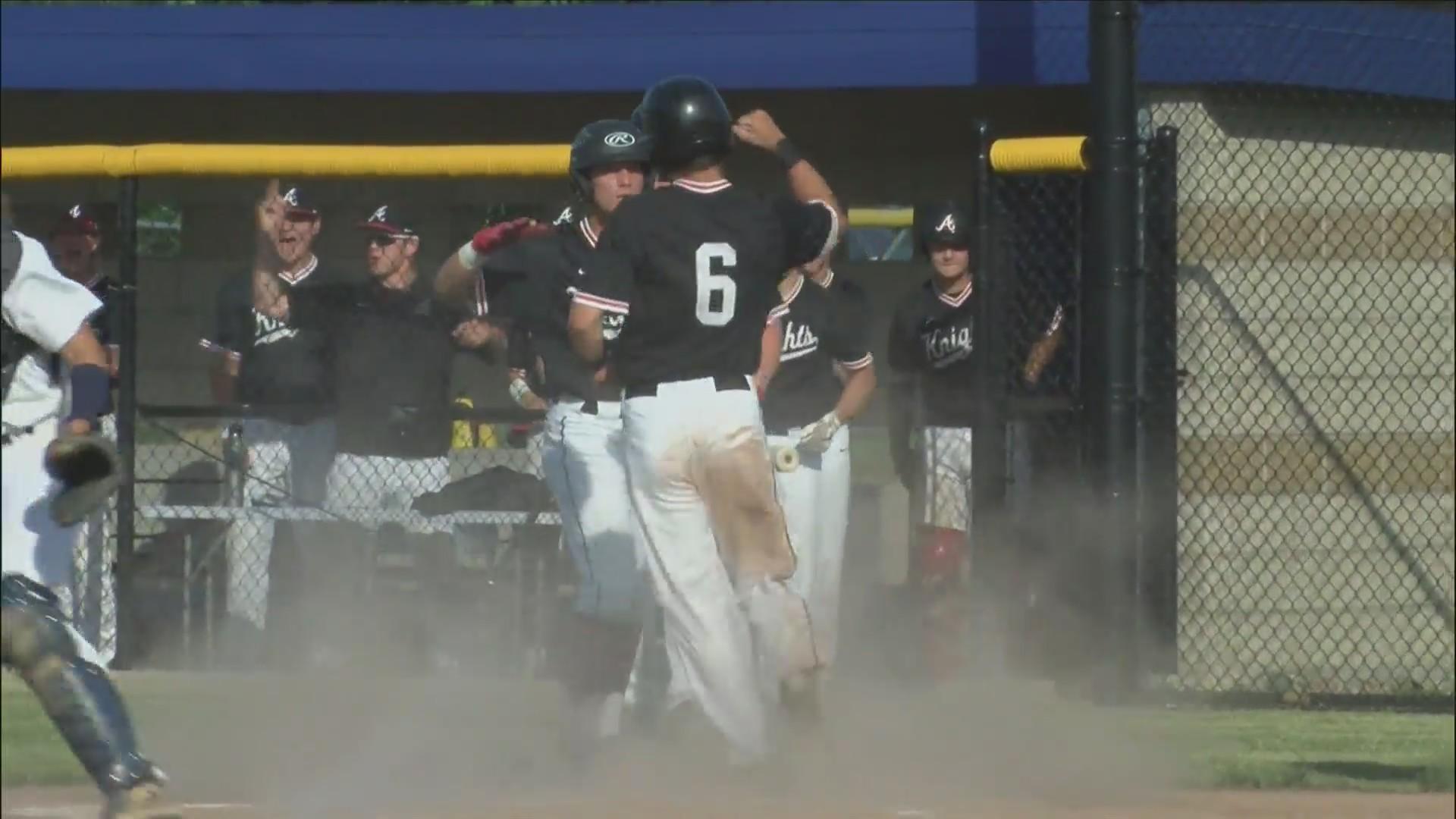 Assumption Baseball sweeps PV