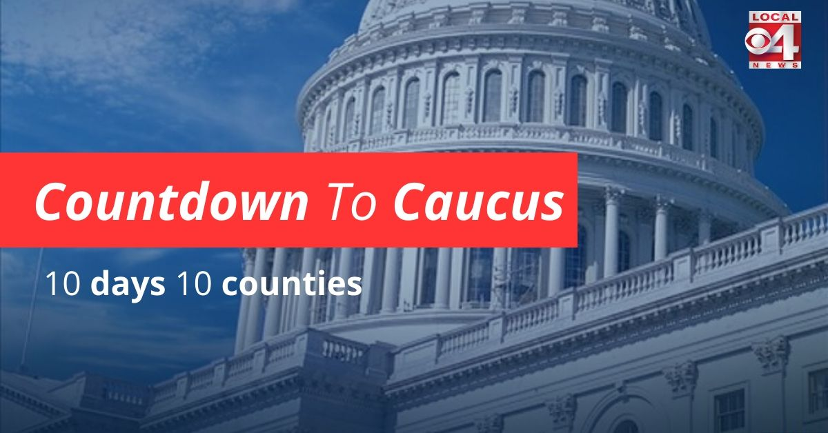 Countdown to Caucus graphic