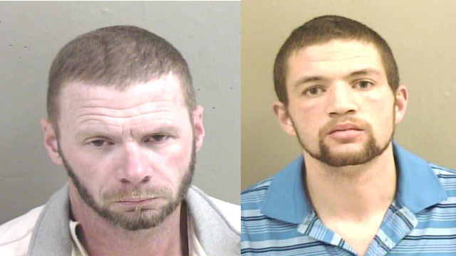 (From Left to Right) Dale A. Knajdek, 44 of Galesburg; Justin A. Dykeman, 24, of Galesburg