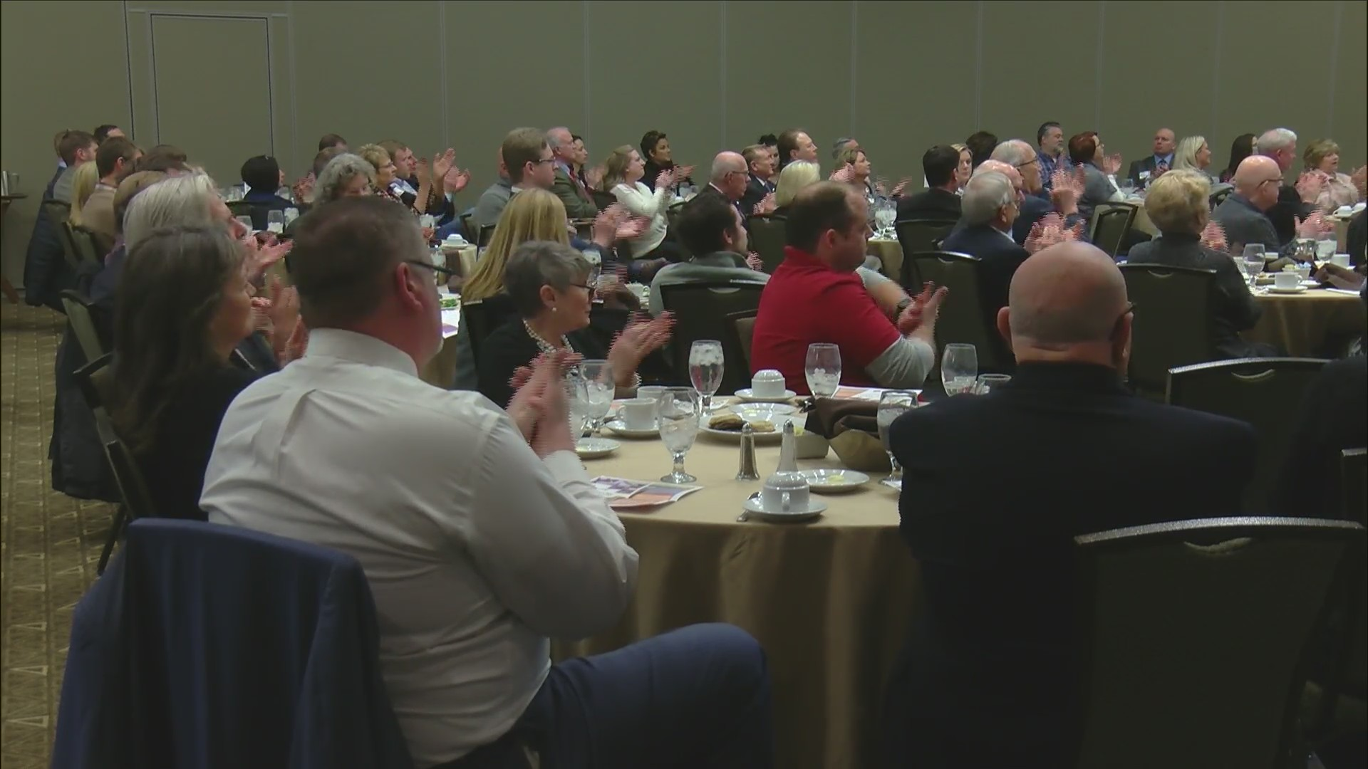 Bettendorf State of the City Address was hosted on Wednesday at the Waterfront Convention Center.