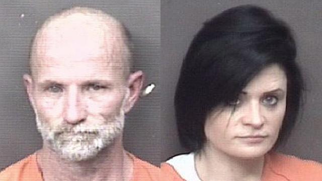 (From left to right) David Jennings, 48; Jade Berhenke, 34