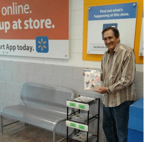 OurSeniors.net Magazine in Walmart