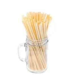 Natural Wheat Straw 100% Biodegradable Drinking Straws