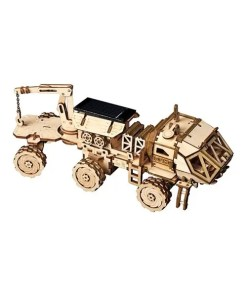 ROBOTIME DIY Assembly Set Solar Hermes Rover - 3D Model - Cover