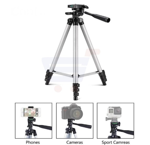 Buy Professional 3110 Portable & Foldable Tripod Stand