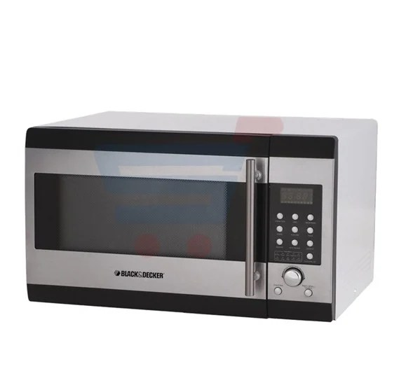 black decker 32 litre microwave oven mz32pcssi with convection and grill