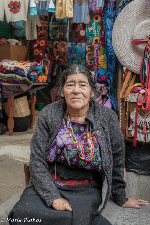 Josefina in her shop