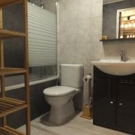Salle de bain 2 Ourson Gris