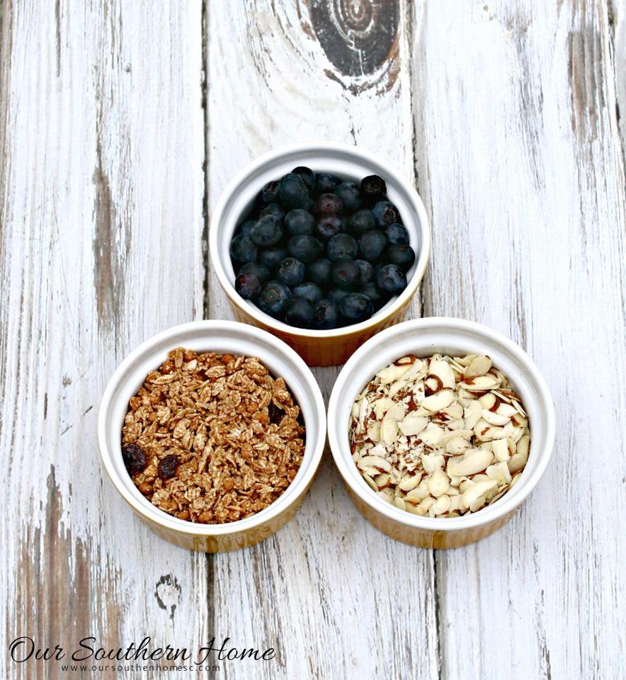 Gluten Free Yogurt Parfait with Liberte yogurt at Publix via Our Southern Home #ad #YogurtPerfection