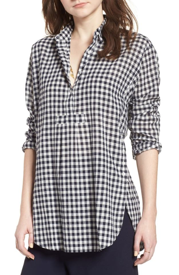 Gingham is timeless for all year! #gingham #ginghamtunic