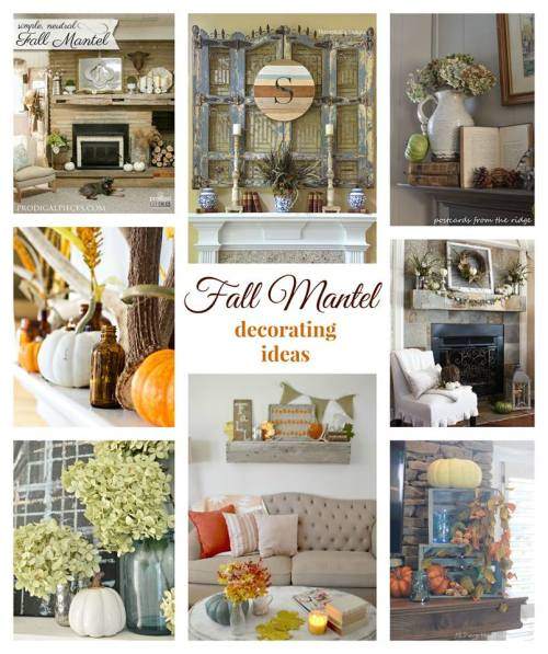 8 Gorgeous Fall Mantels