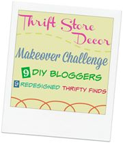 Monthly thrift store challenge with top bloggers!