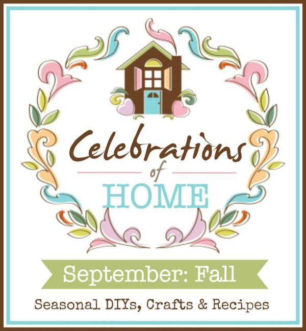 A monthly blog hop featuring ideas for Celebrations of Home!