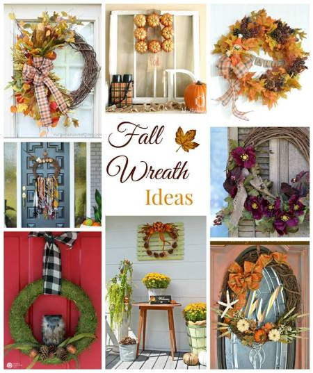 8 Festive Fall Wreath Ideas