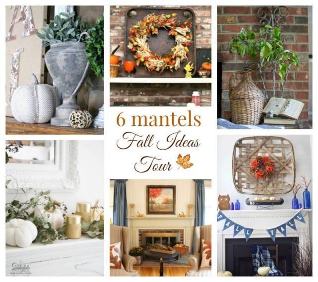 Gorgeous fall mantel ideas!