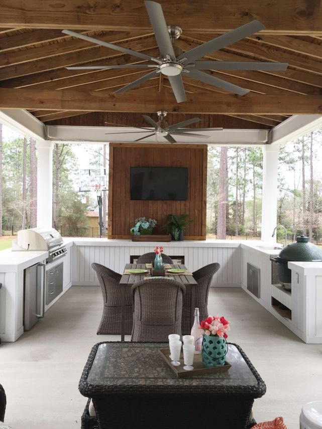 Outdoor kitchen idea from Refresh Restyle