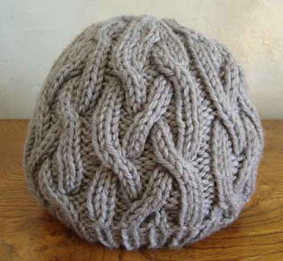 One Skein Braided Cable Hat