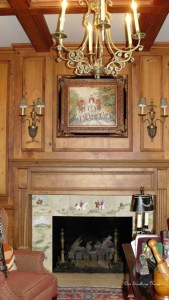 Study Mantle {Future Room Plans}