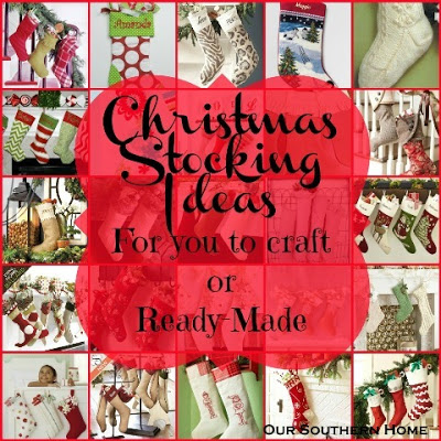 Christmas Stocking {to make or purchase}