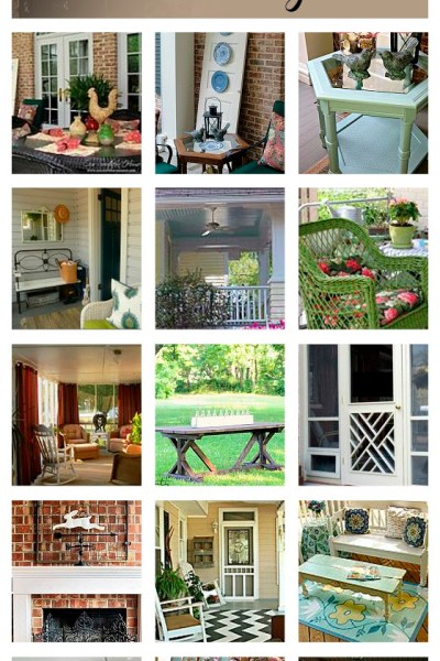 Sensational Screened Porch Ideas {Hometalk Curated Board}